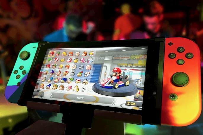 Nintendo Switch al televisor