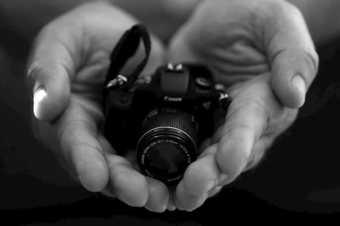 mantenimiento de la cámara digital