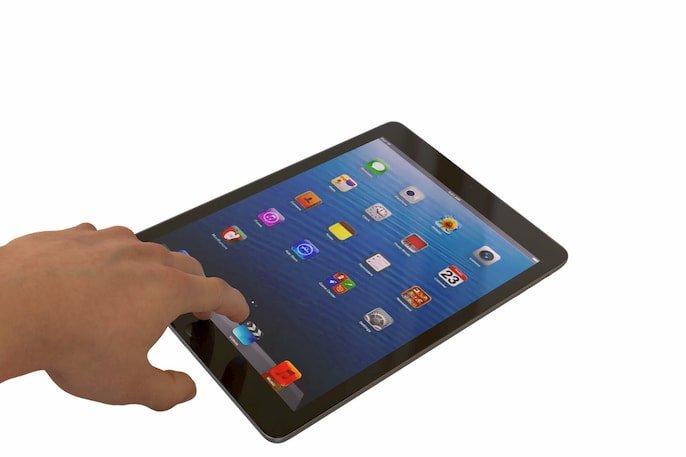 Restablecer un iPad