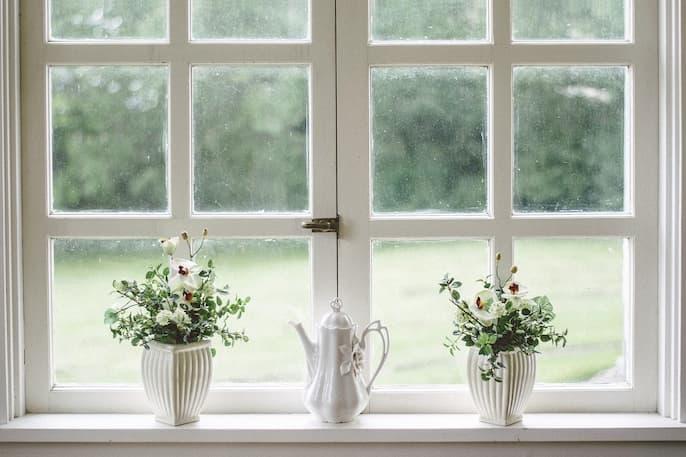 quitar pegamento de ventana
