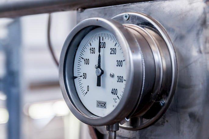consumo de gas