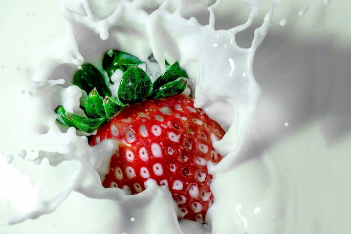 mancha de leche