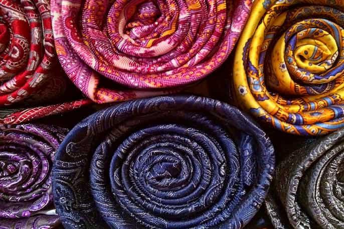 mancha de la seda