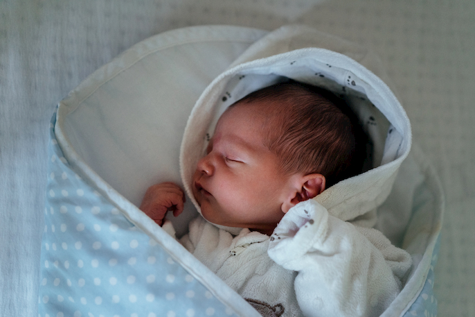 bebé ronca